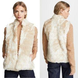 NWT Jack by BB Dakota Cardin Faux Fur Vest